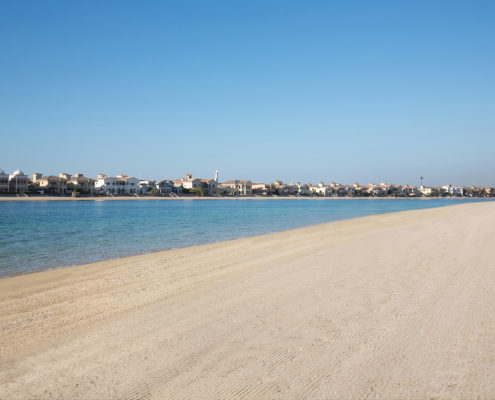 Privat Beach in Dubai